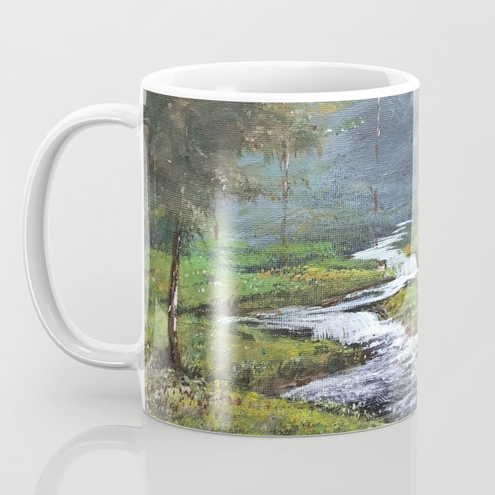 Bubbling Brook Coffee Mug
