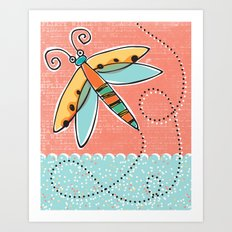 Summer Buzzin' Art Print