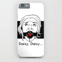 Daisy, Daisy... iPhone Case
