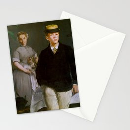 """Édouard Manet """"Luncheon in the Studio (or The Luncheon)"""" Stationery Cards"""