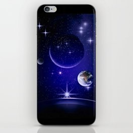 Fantastic yourney into space. iPhone Skin