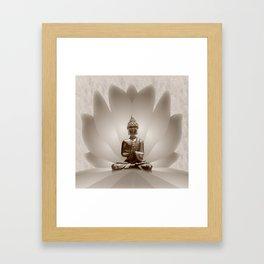 Buddha 13 Framed Art Print