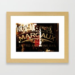 Margaux Framed Art Print