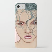 swim iPhone & iPod Cases featuring SWIM by Laura O'Connor