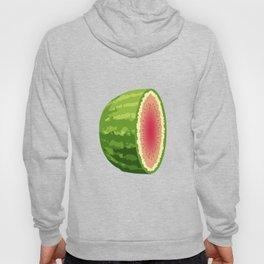 Water Melon Cut In Half Hoody