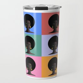 Black Woman, Black Pride Travel Mug