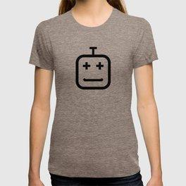 Smiling Bot / Black T-shirt
