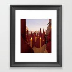 NAZARENOS HOLY WEEK SEVILLE SPAIN Framed Art Print