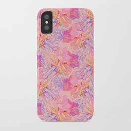 psychedelic succulent iPhone Case