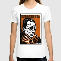 camus T-shirts featuring ALBERT CAMUS QUOTATION by Lestaret