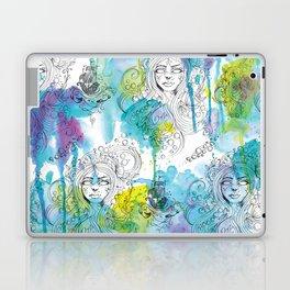 Mermaid Spirits Laptop & iPad Skin