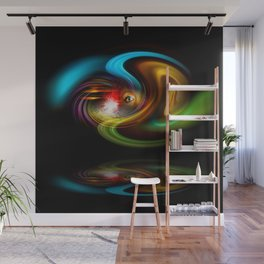 Abstract Perfection - Magical Light And Energy 2 Wall Mural