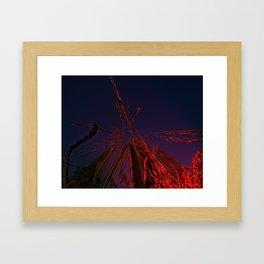 Corn and Sun Framed Art Print