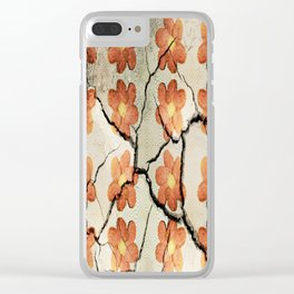 Friendship as a Beautiful Flower Clear iPhone Case