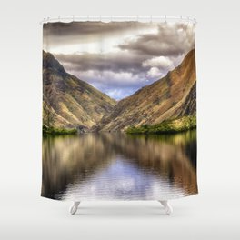 Snake River in Hells Canyon Shower Curtain