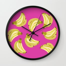 GOING BANANAS! Wall Clock