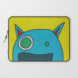 Slightly Amused Monsters, I Blue Laptop Sleeve