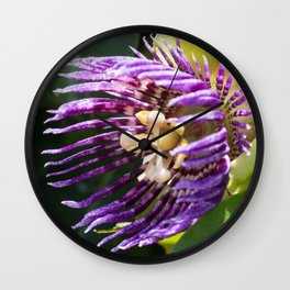 Passiflora j.adorno Wall Clock