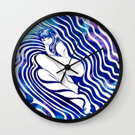 Water Nymph VII Wall Clock