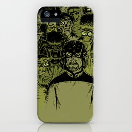 Alien Meeting iPhone Case