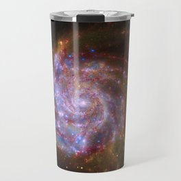 Spiral Galaxy Messier 101 Travel Mug