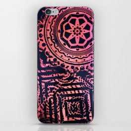 Loops and Lines iPhone Skin