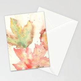 Fall Leaves 2016 Stationery Cards