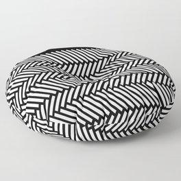 Herringbone Boarder Floor Pillow
