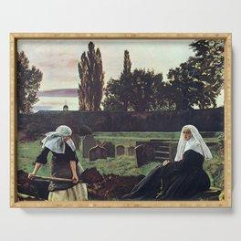 John Everett Millais - The Vale of Rest Serving Tray