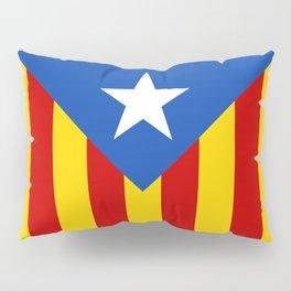 Estelada Blava - Senyeraestelada, HQ Banner version Pillow Sham