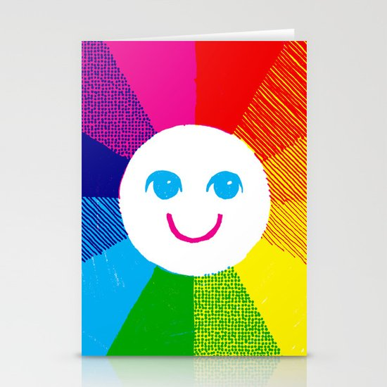 Show Your True Colors Stationery Cards
