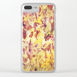Abstract XXXII Clear iPhone Case