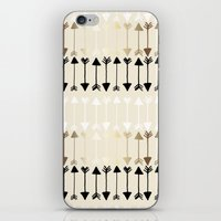 arrows iPhone & iPod Skins featuring Arrows by Tangerine-Tane