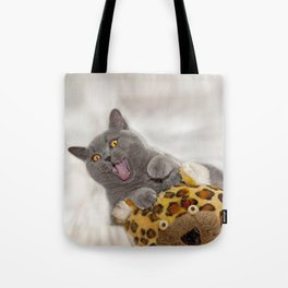 Supersonic Kitty Tote Bag