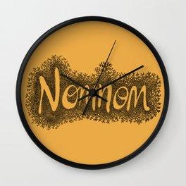 Nomnom Wall Clock
