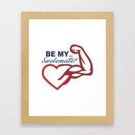 Be Mine? Framed Art Print