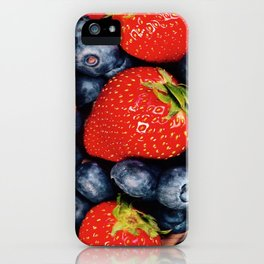 Berry Faces iPhone Case