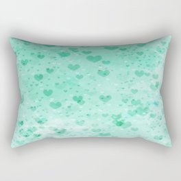 A Sea Of Floating Hearts Rectangular Pillow
