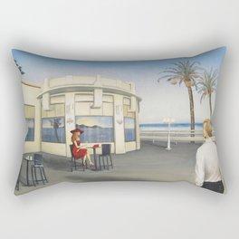 La derniere Rectangular Pillow