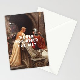 Edmund Leighton, God Speed (1900) / Halsey, Trouble (2014) Stationery Cards