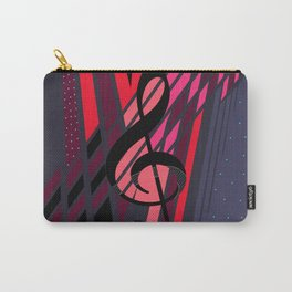 Lively Musical Dimensions Carry-All Pouch