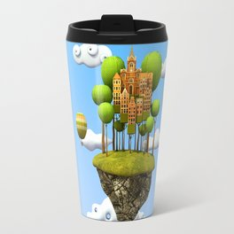 New City in the Sky Travel Mug