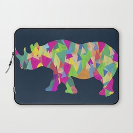 Abstract Rhino Laptop Sleeve