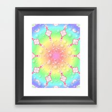 sweet rainbow of mine Framed Art Print