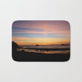 Pacific Northwest Sunset Bath Mat