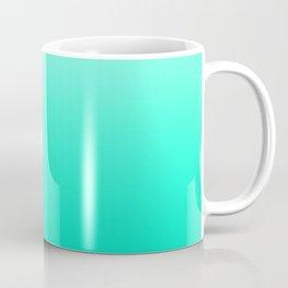 Mint. Gradient  Coffee Mug