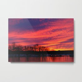 Beautiful sunrise  Metal Print