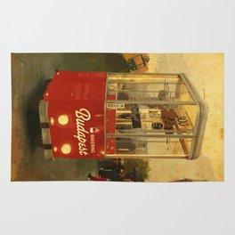 Retro Bakering Budapest Street Food Cart (Hungarian trolley bus) Rug