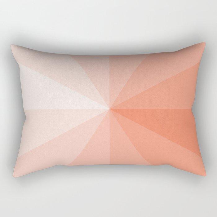 coral Rectangular Pillow
