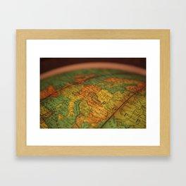 European Adventure Framed Art Print